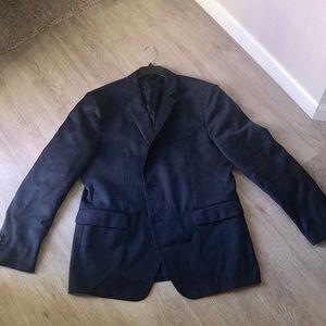 Men's John Varvatos Navy Sports Coat